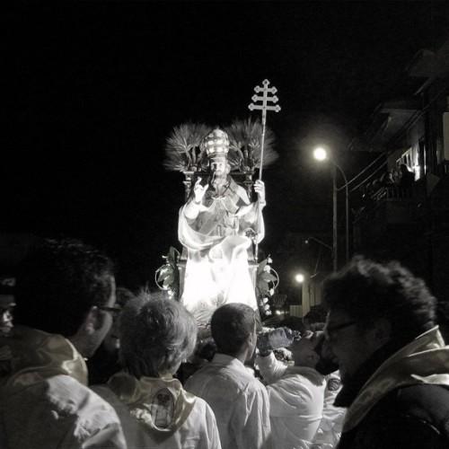 Il Santo pittore, (Sant Alessandro) di Carmelo Orofino
