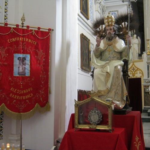 Programma odierno dei festeggiamenti in onore di SANT'ALESSANDRO