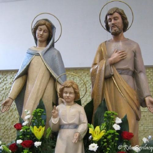 Programma dei festeggiamenti in onore della Santa Famiglia di Nazareth