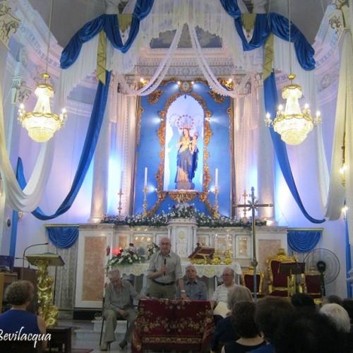 """Presentazione del libro """"Uno squarcio di paese fra passato e presente – il quartiere grazia di Barrafranca – la gente, la chiesa, la madonna, la festa""""."""