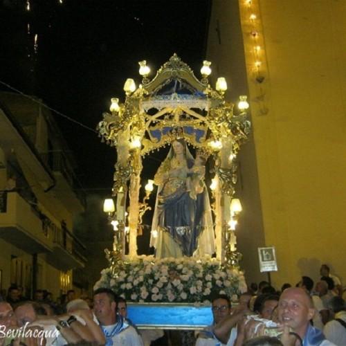 Madonna delle Grazie, il video della processione