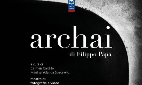 """Mostra personale di fotografia e video """"Archai"""" dell'agirino Filippo Papa a Catania"""