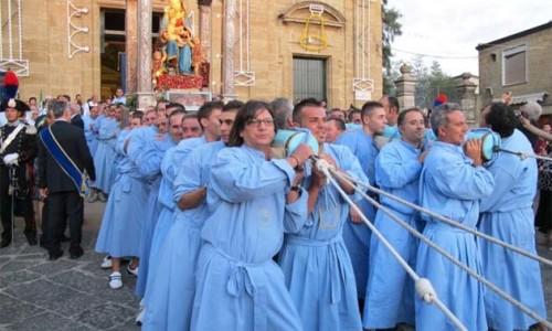 Festa della MADONNA DEL MAZZARO, patrona di Mazzarino.