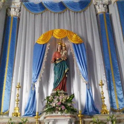 La Madonna della Catena a Barrafranca