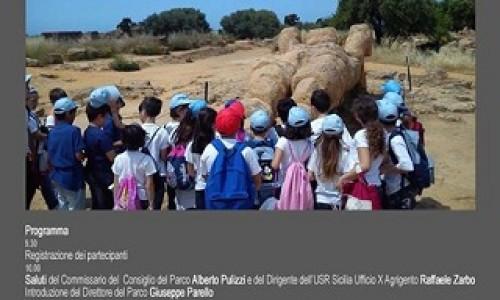 Presentazione delle attività didattiche di archeologia per le scuole nella Valle dei Templi