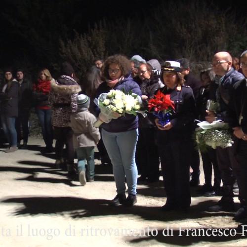 VIDEO:Il vescovo visita il luogo di ritrovamento di Francesco Ferreri