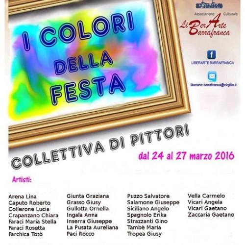 """""""I Colori della Festa""""- Collettiva di arti visive a Barrafranca"""