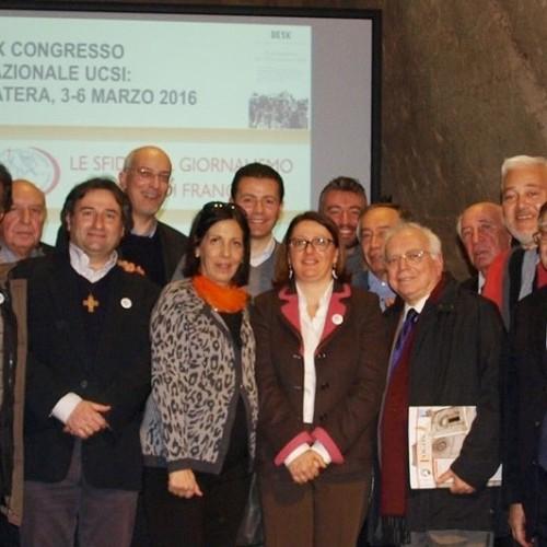 Eletti i rappresentanti nazionali dell'UCSI. Presidente nazionale è Vania De Luca, la vaticanista di Rainews24