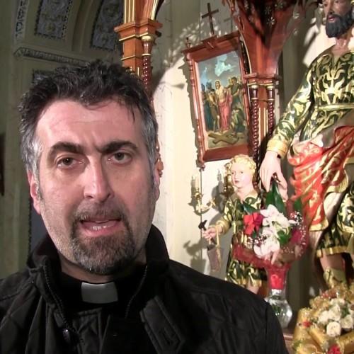 Don Giacomo Zangara invita i fedeli a partecipare alla festa di San Giuseppe