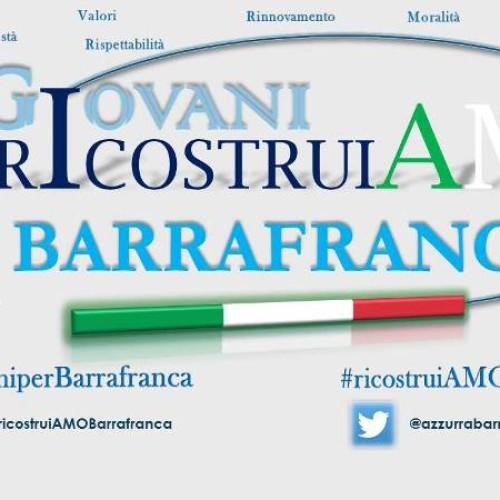 """Un nuovo Movimento Civico """"RicostruiAmo Barrafranca"""" a sostegno del candidato sindaco Giovanni Di Dio"""