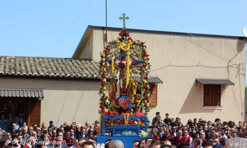 Il SS. Crocifisso dell'Olmo di Mazzarino- Le foto