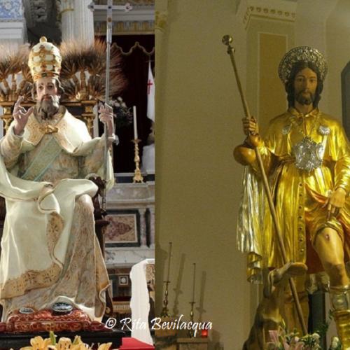 La leggenda dello scambio delle statue di Sant'Alessandro e di San Rocco
