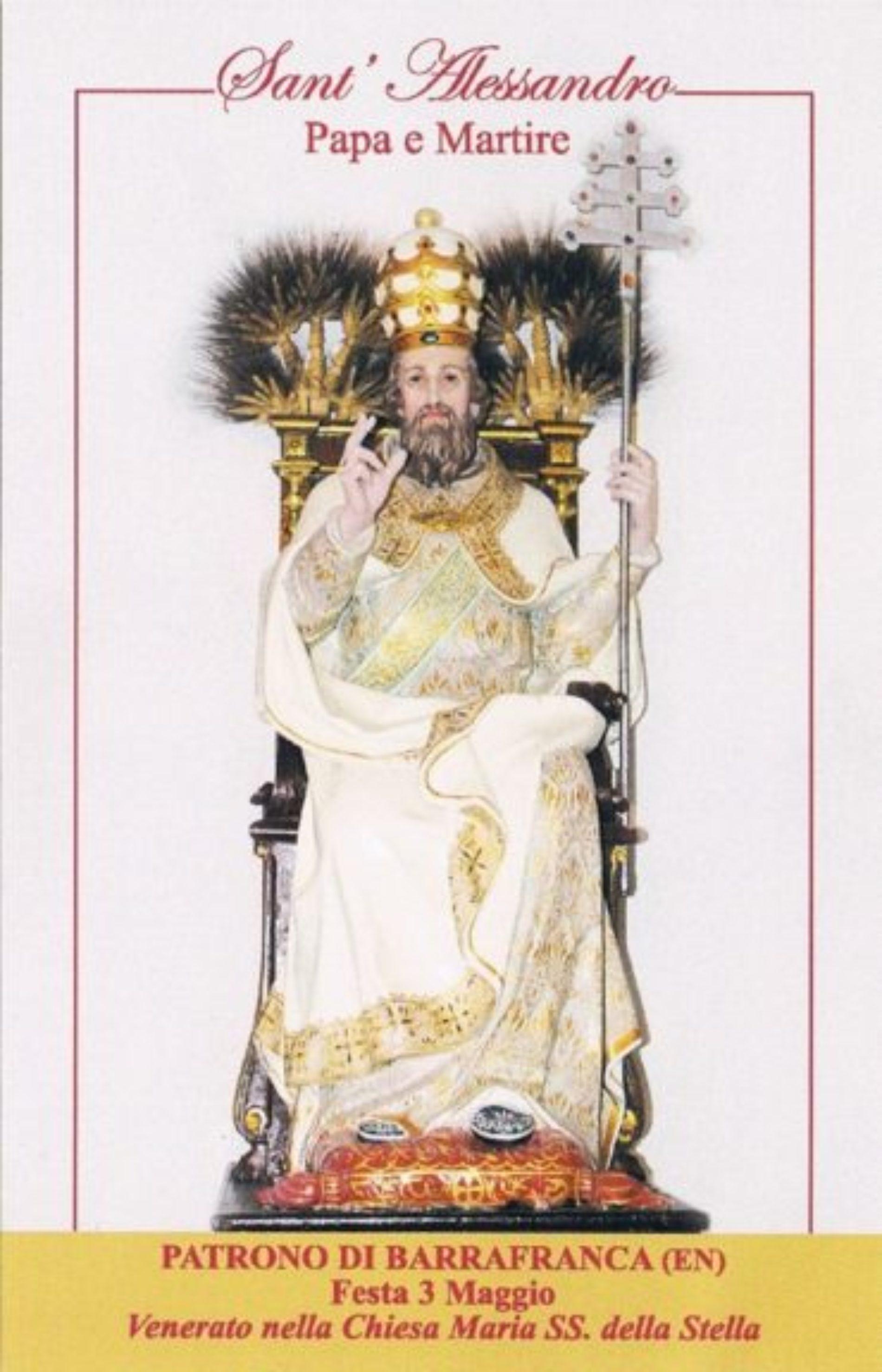 """A battesimo """"A Lapa"""" di Sant'Alessandro nel giorno di festa del Santo Patrono"""
