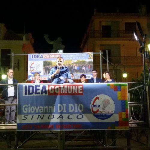 """""""Idea Comune"""" con il candidato a sindaco Giovanni Di Dio posticipa il comizio"""
