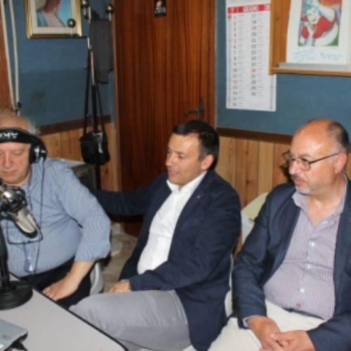 Il neo sindaco Fabio Accardi a Radio Luce dopo la sua elezione