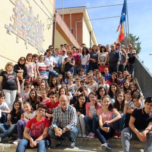 Inaugurazione del pannello NOI LEALI presso la scuola G. Verga