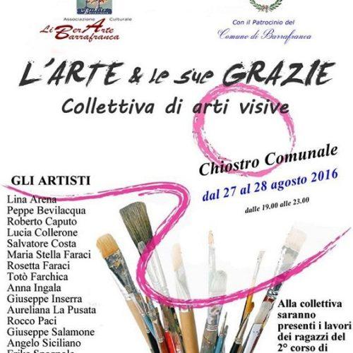 L'Arte & le sue Grazie- Collettiva di arti visive