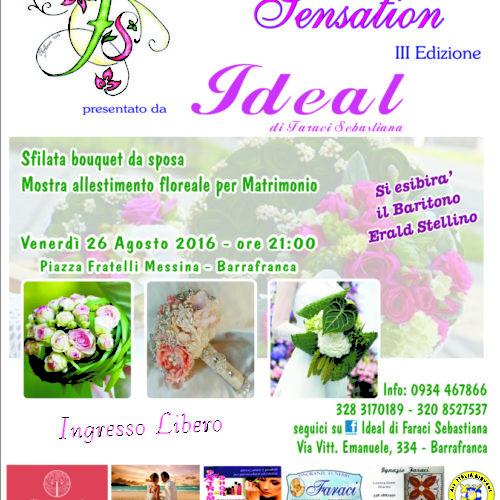"""La terza edizione """"Flower Sensation"""" tra fiori e bouquet, Arte e Musica"""