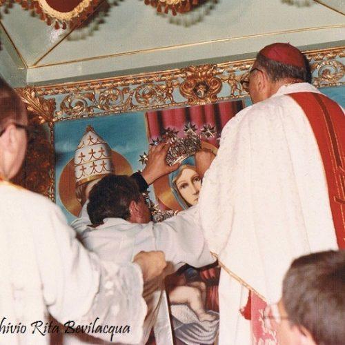 1978-Ricordi fotografici dell'incoronazione della tela di Maria SS. della Stella