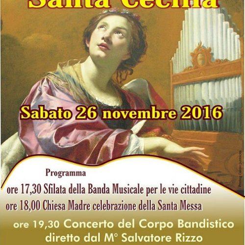 Festeggiamenti in onore di Santa Cecilia