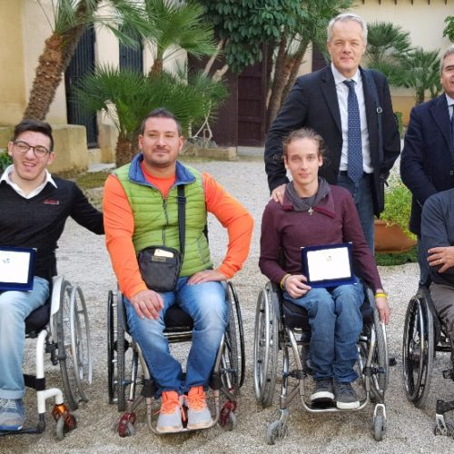 Un barrese e un mirabellese premiati dalla federazione italiana nuoto paralimpico