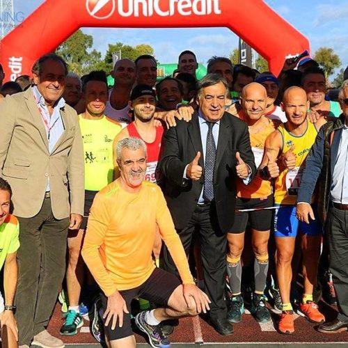 Running Barrafranca protagonista alla maratona di Palermo con Totò Geraci che compie un ottimo tempo