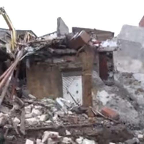 Pietraperzia, crollano quattro case