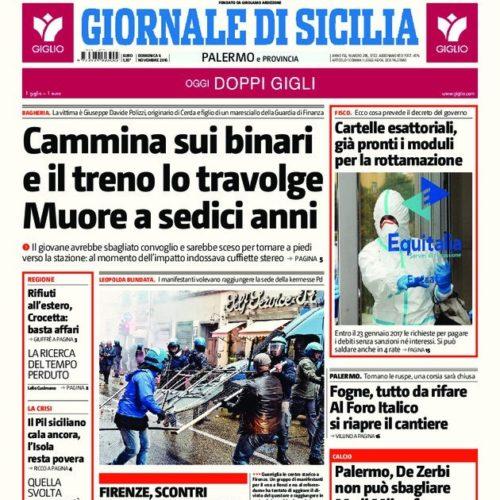 Collaboratori del Giornale di Sicilia chiedono incontro urgente con la direzione del giornale