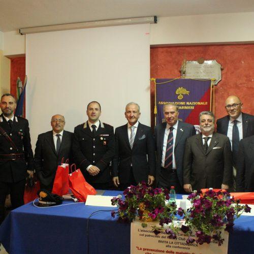Associazione nazionale carabinieri organizza conferenza su salute, benessere e legalità