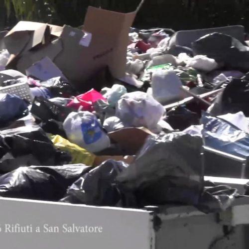 Continua a funzionare la discarica (abusiva) di San Salvatore