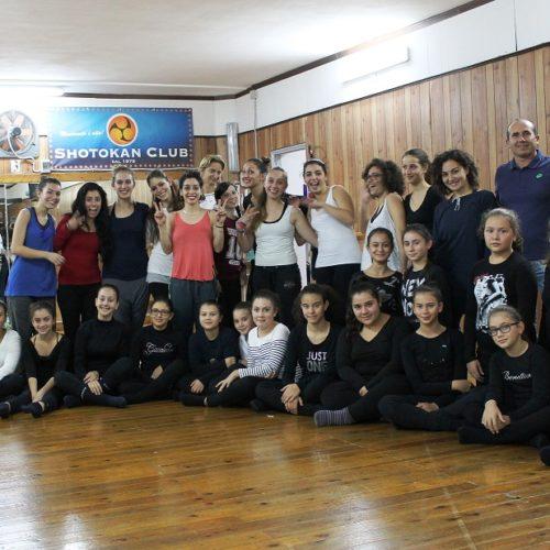 """Allo Shotokan Club parte il progetto """"back to the origins"""" con lo stage di floorwork con Giulia Piana"""