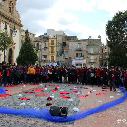 """""""NON UNA DI MENO""""- manifestazione in ricordo delle donne vittime di violenza"""