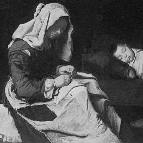 A BEDDA MATRI IN CAMERA CUSIVA- antico canto natalizio siciliano