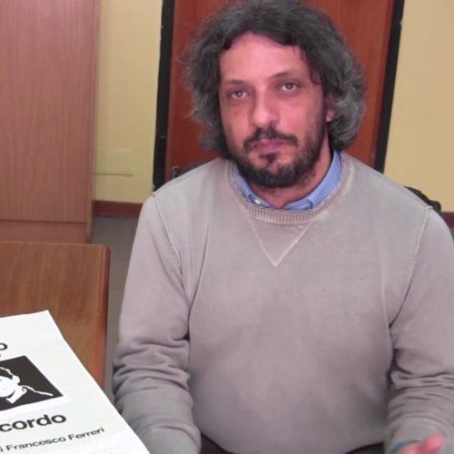 """Intervista a Vittorio Avveduto, referente regionale di Libera su manifestazione """"Vedo, sento, parlo, ricordo, perché l'omertà uccide"""""""