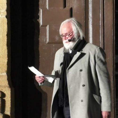 """Video / Gli artisti Massimo Estero e Gaetano Libertino alla manifestazione di Libera """"Vedo Sento, Parlo, Ricordo, Perché l'omertà uccide"""""""