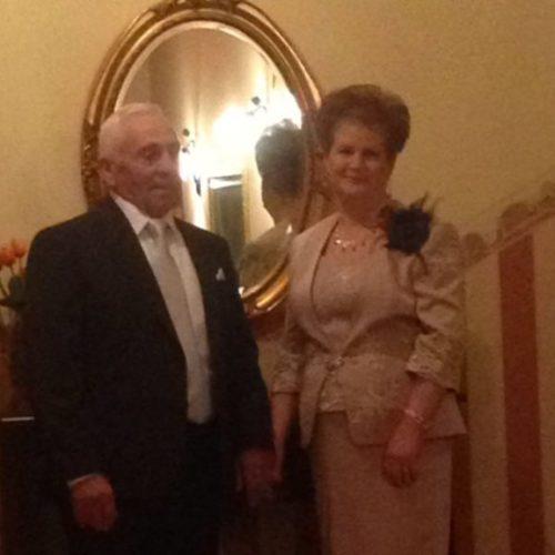 Festa per Salvatore e Antonia Strazzanti per il cinquantesimo anniversario di matrimonio