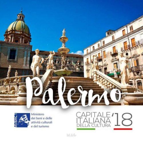 Palermo sarà capitale italiana della Cultura per il 2018
