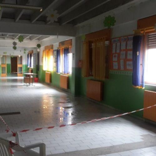 Il maltempo mette a dura prova le scuole di Barrafranca