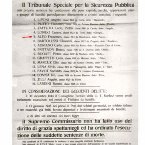 Accadde Oggi 30 Gennaio 1945 di Salvatore Licata