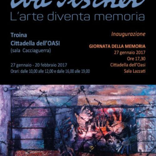"""Troina, inaugurazione mostra """"Eva Fischer – L'Arte diventa memoria"""""""