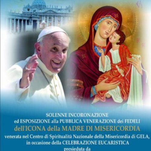 L'icona della Madre di Misericordia venerata a Gela da Papa Francesco per la Giornata dei Religiosi