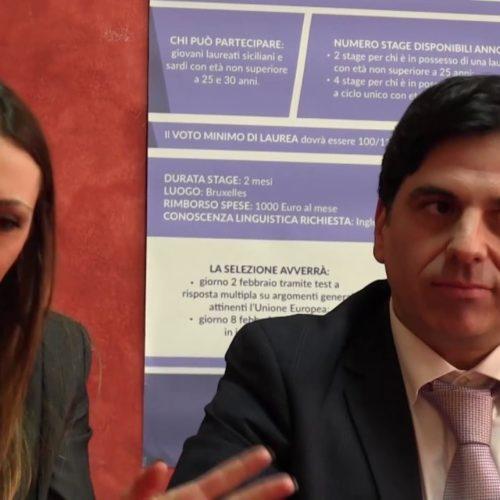 Video / L'europarlamentare Salvo Pogliese sul problema della disoccupazione e su quello dei migranti