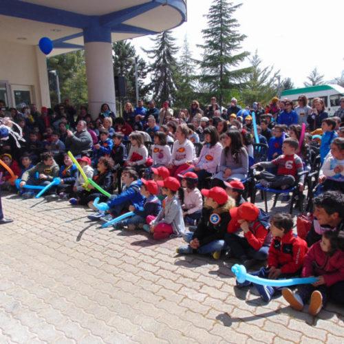 """Video / A Barrafranca la """"Festa della Primavera"""" al Csr con 350 partecipanti tra assistiti, famiglie e operatori sanitari"""