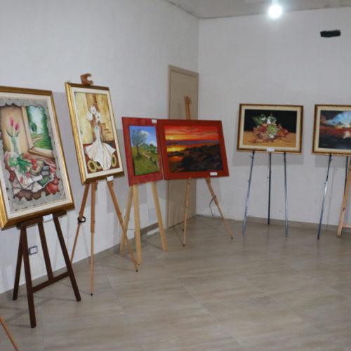 """Successo della Mostra """"Sfumature di Primavera"""" organizzata dalla LiberArte Barrafranca"""