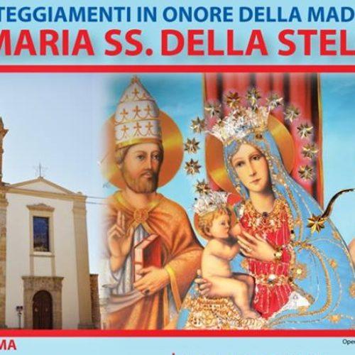 Programma 2017 festeggiamenti in onore di Maria SS. della Stella di Barrafranca