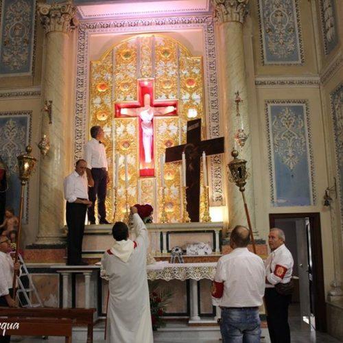 In occasione dell'Esaltazione della Croce Barrafranca celebra il SS. Crocifisso