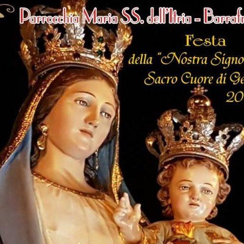 """Programma festa della """"Nostra Signora del Sacro Cuore di Gesù"""" 2017"""