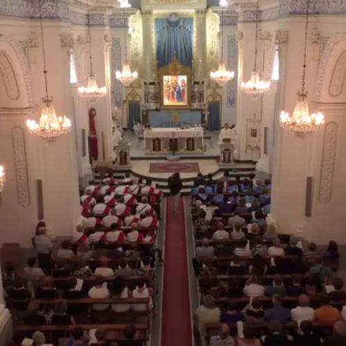 Video / Vigilia Madonna della Stella, Concelebrazione S. Messa con il vescovo Don Rosario Gisana