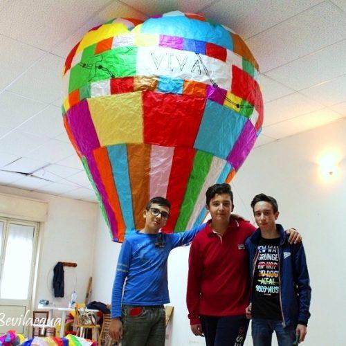 """Le nuove generazioni e la tradizione barrese dei """"Palloni di san Francesco"""""""