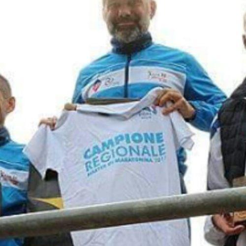 Atleta barrese Totò Geraci campione regionale nella mezza maratona